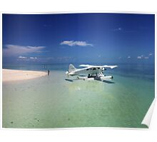 Sea Plane - Heron Island - Australia Poster