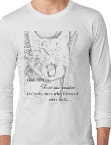 must love cats Long Sleeve T-Shirt
