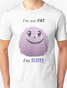 I'm not fat Unisex T-Shirt