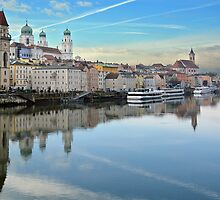 Passau am Donau - Germany by Arie Koene