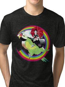 Loop And Loop Tri-blend T-Shirt