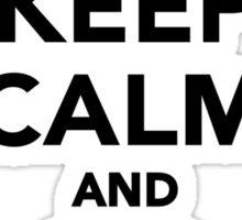 Keep calm and go Diving Sticker