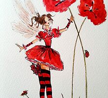 Poppy Fairy by Catfirra
