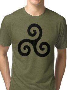 Celtic Triskelion Tri-blend T-Shirt