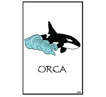 Save Orcas T-shirt, Hoodie, Sticker, Art Print, iPhone Case, Samsung Galaxy Case, Or iPad Case Photographic Print