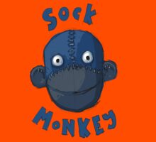 Crafty Sock Monkey Always Happy to See You ! Kids Clothes