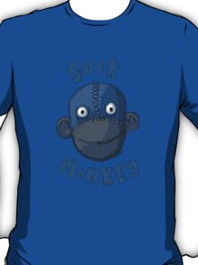 Crafty Sock Monkey Always Happy to See You ! T-Shirt