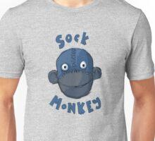 Crafty Sock Monkey Always Happy to See You ! Unisex T-Shirt