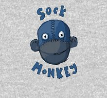 Crafty Sock Monkey Always Happy to See You ! Unisex T-Shirt