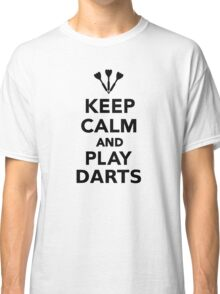 Keep calm and play Darts Classic T-Shirt