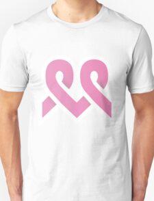 Cancer Awareness Heart Ribbon T-Shirt