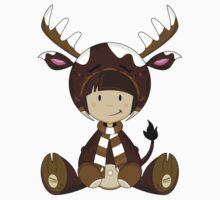 Cute Reindeer Kid Kids Clothes
