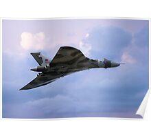 Vulcan XH558 Poster