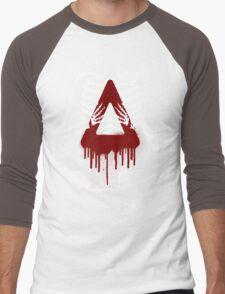 Bloody Bastille Skeleton Men's Baseball ¾ T-Shirt