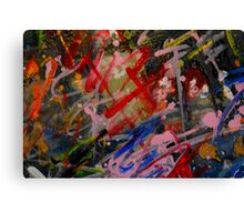 all abstract Canvas Print