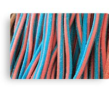 Coloured sweets Canvas Print