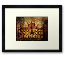 Haight Mausoleum Framed Print