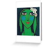 Melinda at Midnight Greeting Card