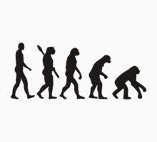 Evolution backwards Baby Tee