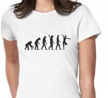 Evolution Ballet Ballerina Womens Fitted T-Shirt