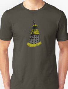 Vintage Look Half Tone Doctor Who Dalek Graphic Unisex T-Shirt