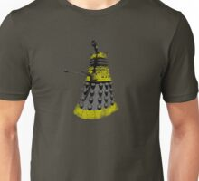 Vintage Look Half Tone Doctor Who Dalek Graphic Unisex T-Shirt