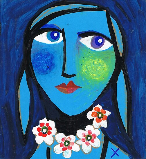 Blue Emma by Rosemary Brown