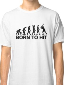 Evolution born to Baseball Classic T-Shirt