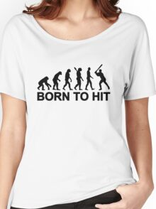 Evolution born to Baseball Women's Relaxed Fit T-Shirt