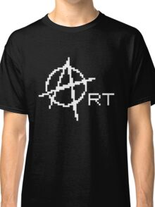 8-bit Anarchy Art Classic T-Shirt