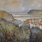 My Heart Misses a Beat, Staithes by Sue Nichol
