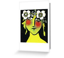 Summer Queen Greeting Card