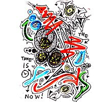 The Time Is Now- Unique Art Photographic Print