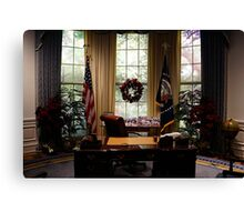Oval Office Canvas Print