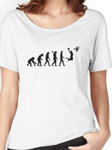 Evolution Basketball  Women's Relaxed Fit T-Shirt