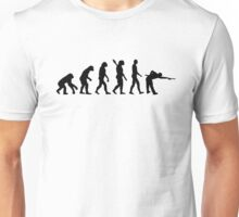 Evolution Pool billiards Unisex T-Shirt