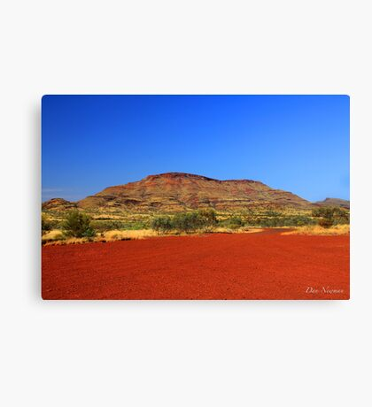 Pilbara Red Canvas Print