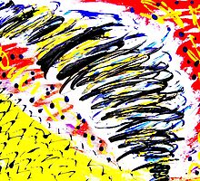 Tornado- Unique Painting  by Vincent J. Newman