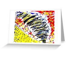 Tornado- Unique Painting  Greeting Card