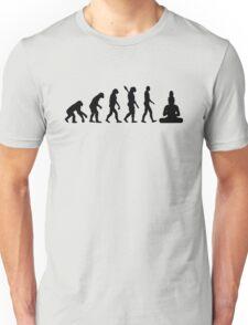 Buddha Evolution  Unisex T-Shirt