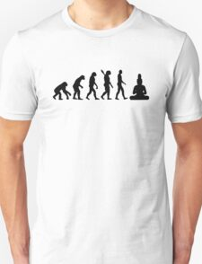 Buddha Evolution  T-Shirt