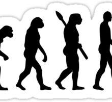Buddha Evolution  Sticker