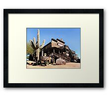 Old Goldfield Saloon Framed Print