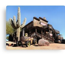 Old Goldfield Saloon Canvas Print