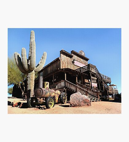 Old Goldfield Saloon Photographic Print