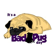 It's a bad pug day by elenapugger