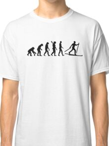 Evolution Cross country skiing Classic T-Shirt