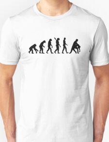 Evolution dancing couple Unisex T-Shirt