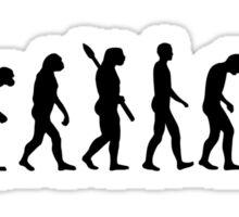 Evolution computer office Sticker