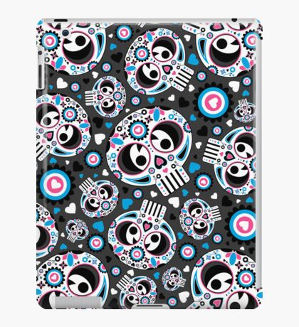Mexican 'Day of the Dead' Pattern iPad Case/Skin